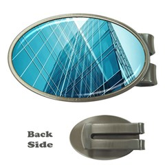 Glass Bulding Money Clips (oval)  by BangZart