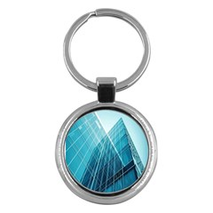 Glass Bulding Key Chains (round)  by BangZart