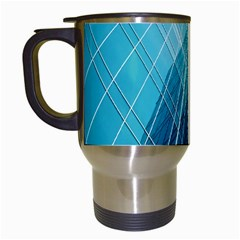 Glass Bulding Travel Mugs (white) by BangZart