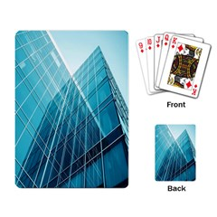 Glass Bulding Playing Card by BangZart