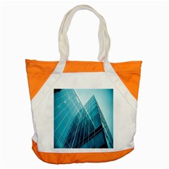 Glass Bulding Accent Tote Bag by BangZart