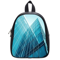 Glass Bulding School Bags (small)  by BangZart