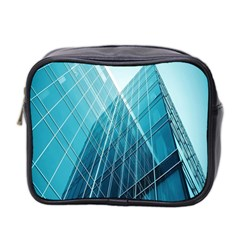 Glass Bulding Mini Toiletries Bag 2 Side