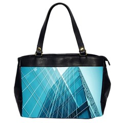 Glass Bulding Office Handbags (2 Sides)  by BangZart