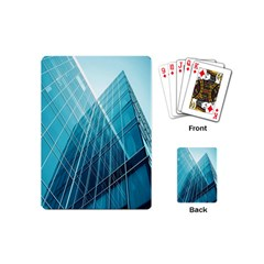 Glass Bulding Playing Cards (mini)  by BangZart