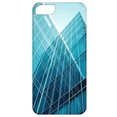 Glass Bulding Apple Iphone 5 Classic Hardshell Case by BangZart