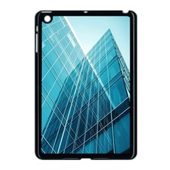 Glass Bulding Apple Ipad Mini Case (black) by BangZart