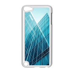 Glass Bulding Apple Ipod Touch 5 Case (white) by BangZart