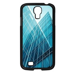 Glass Bulding Samsung Galaxy S4 I9500/ I9505 Case (black) by BangZart