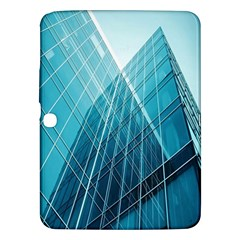 Glass Bulding Samsung Galaxy Tab 3 (10 1 ) P5200 Hardshell Case  by BangZart