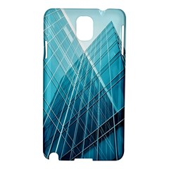 Glass Bulding Samsung Galaxy Note 3 N9005 Hardshell Case by BangZart