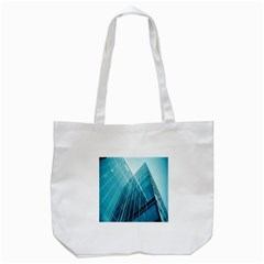 Glass Bulding Tote Bag (white) by BangZart