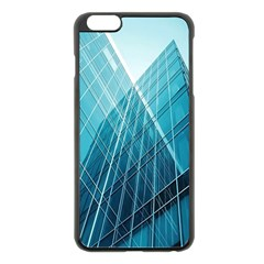 Glass Bulding Apple Iphone 6 Plus/6s Plus Black Enamel Case by BangZart