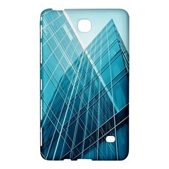 Glass Bulding Samsung Galaxy Tab 4 (8 ) Hardshell Case  by BangZart
