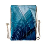 Glass Bulding Drawstring Bag (Small) Front