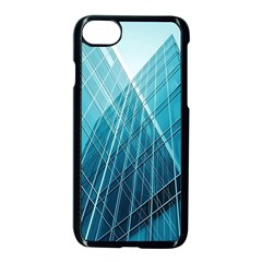 Glass Bulding Apple Iphone 7 Seamless Case (black) by BangZart