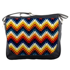 The Amazing Pattern Library Messenger Bags by BangZart