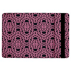 Triangle Knot Pink And Black Fabric Ipad Air Flip