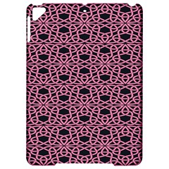 Triangle Knot Pink And Black Fabric Apple Ipad Pro 9 7   Hardshell Case by BangZart