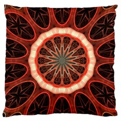 Circle Pattern Standard Flano Cushion Case (one Side) by BangZart
