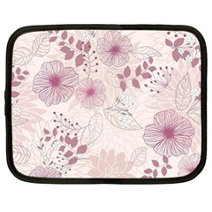 Leaves Pattern Netbook Case (xl)  by BangZart