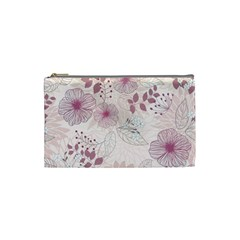 Leaves Pattern Cosmetic Bag (small)