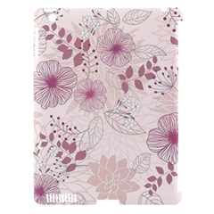 Leaves Pattern Apple Ipad 3/4 Hardshell Case (compatible With Smart Cover) by BangZart