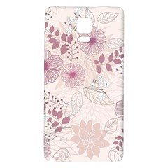 Leaves Pattern Galaxy Note 4 Back Case