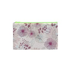 Leaves Pattern Cosmetic Bag (xs) by BangZart