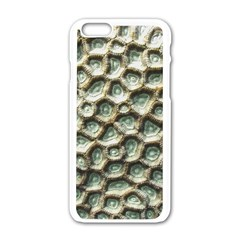 Ocean Pattern Apple Iphone 6/6s White Enamel Case by BangZart