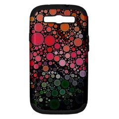 Circle Abstract Samsung Galaxy S Iii Hardshell Case (pc+silicone)