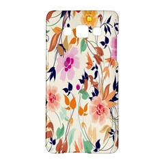 Vector Floral Art Samsung Galaxy A5 Hardshell Case  by BangZart