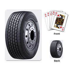 Tire Playing Card