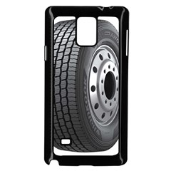 Tire Samsung Galaxy Note 4 Case (black)