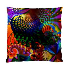 Colored Fractal Standard Cushion Case (one Side)