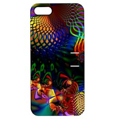 Colored Fractal Apple Iphone 5 Hardshell Case With Stand