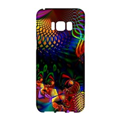 Colored Fractal Samsung Galaxy S8 Hardshell Case