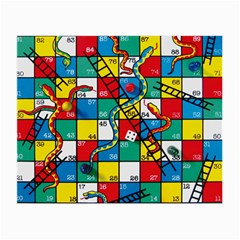 Snakes And Ladders Small Glasses Cloth