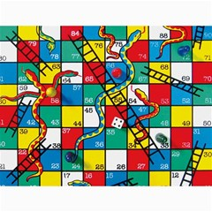 Snakes And Ladders Canvas 36  X 48   by BangZart