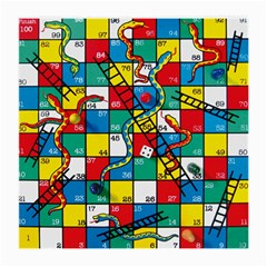 Snakes And Ladders Medium Glasses Cloth by BangZart
