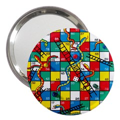 Snakes And Ladders 3  Handbag Mirrors