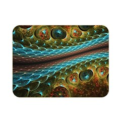 Fractal Snake Skin Double Sided Flano Blanket (mini)