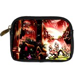 Fantasy Art Story Lodge Girl Rabbits Flowers Digital Camera Cases Front