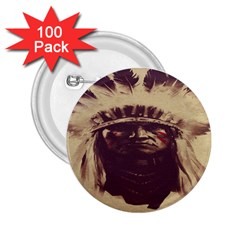 Indian 2 25  Buttons (100 Pack)