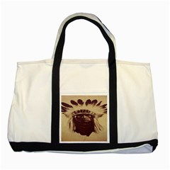 Indian Two Tone Tote Bag