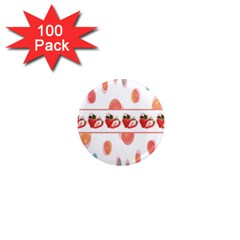 Strawberries 1  Mini Magnets (100 Pack)  by SuperPatterns