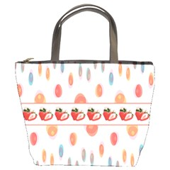 Strawberries Bucket Bags by SuperPatterns