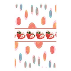 Strawberries Shower Curtain 48  X 72  (small)  by SuperPatterns