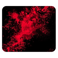 Red Smoke Double Sided Flano Blanket (small)  by berwies