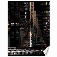 Blacktechnology Circuit Board Electronic Computer Canvas 36  X 48   by BangZart